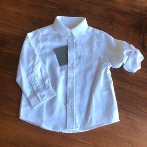 Deux par Deux Dress Shirt Toddler Wedding Church